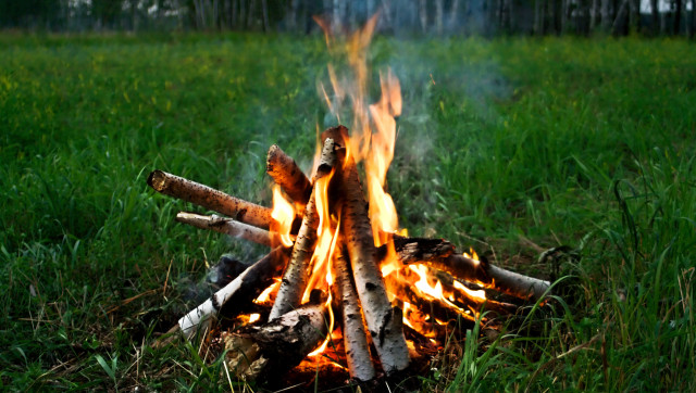 camp-fire